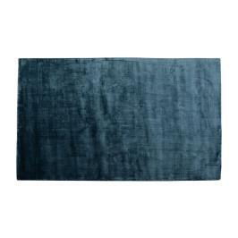 Zacht tapijt blauw