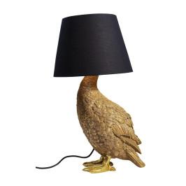 Gouden eend tafellamp