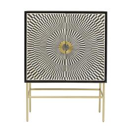 Design wandkast zwart-wit