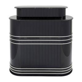 Luxe thuisbar hoogglans zwart