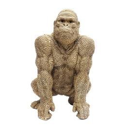 Deco gorilla beeld