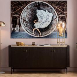 Zwart design dressoir