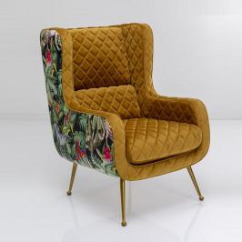 Okergele fauteuil jungle