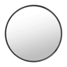 Ronde spiegel met zwarte rand
