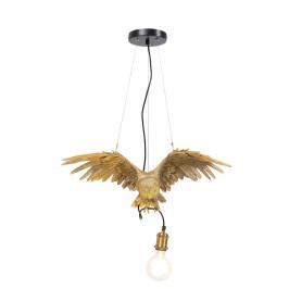 Gouden uil hanglamp