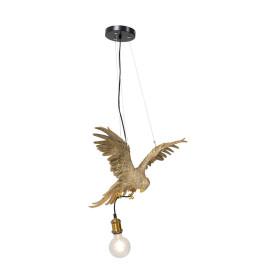 Gouden papegaai hanglamp