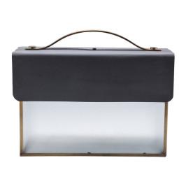 Industriële koffer lamp