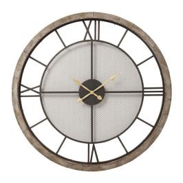 Klassieke ronde wandklok van 121 cm