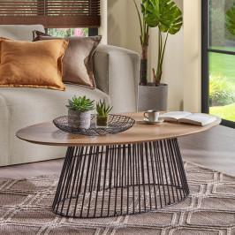Ovale salontafel modern design