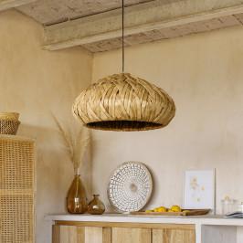 Natuurlijke rieten hanglamp