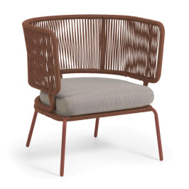 Moderne design tuinstoel touw