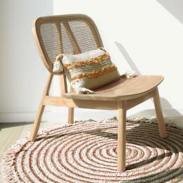 Bohemian lounge stoel teak