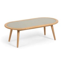 Ovale salontafel voor buiten