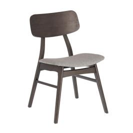 Houten retro design stoel