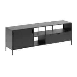 Zwart metalen tv-meubel