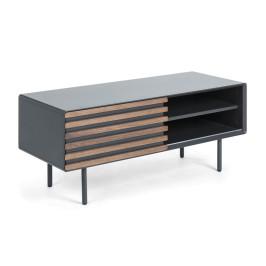 Mat grijs TV-meubel