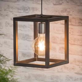 Metalen kubus hanglamp