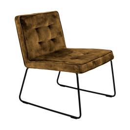 Moderne fauteuil fluweel