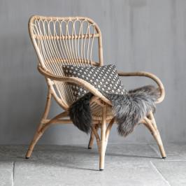 Rotan fauteuil naturel