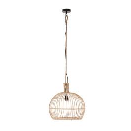 Bolvorm rotan hanglamp