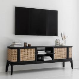 Webbing tv-meubel met ronde hoeken