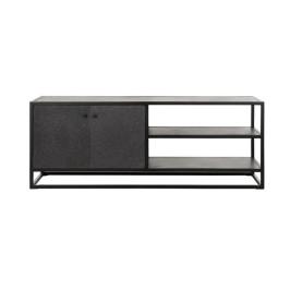 Metalen tv-meubel met stenen blad