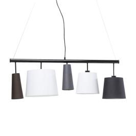 Plafondlamp zwart