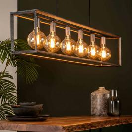 Rechthoekige hanglamp industrieel