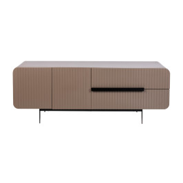 Retro design tv-meubel taupe