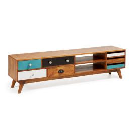 Retro tv-meubel hout