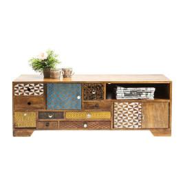 Retro tv-meubel hout Soleil
