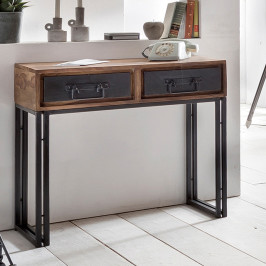 Houten sidetable sheeshamhout