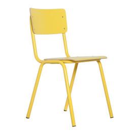 Stapelbare retro stoel