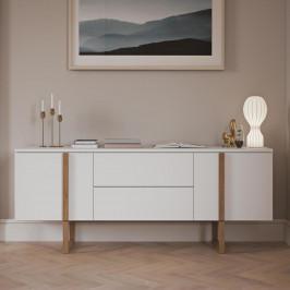 Breed dressoir modern met eiken