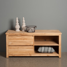 TV meubel hoog model - 2 lades - 130cm