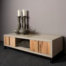 TV-meubel eiken en beton 145