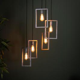 Trapse lamp met rechthoekige frames