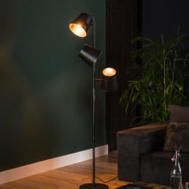 Verstelbare vloerlamp industrieel