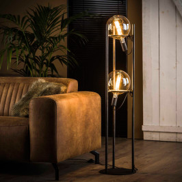 Vloerlamp met 2 steunringen