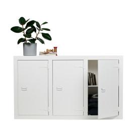 Stoer dressoir wit hout