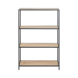 Metalen boekenkast met 4 planken