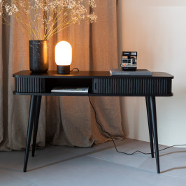 Zwarte design sidetable