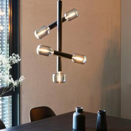 Design hanglamp mat zwart