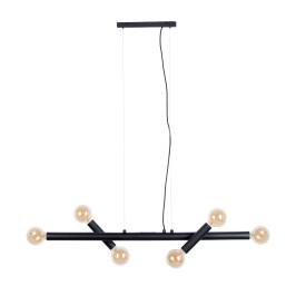 Mat zwarte design hanglamp