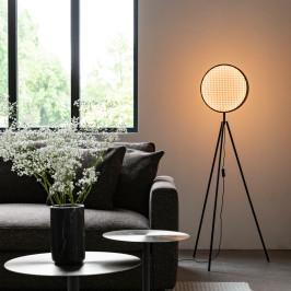 Design vloerlamp met webbing