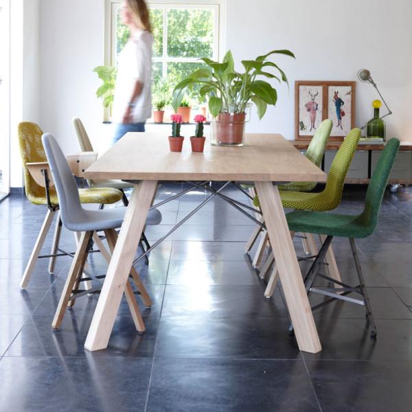 Spoinq Square Staal   Design stoel met stalen frame   SPQ