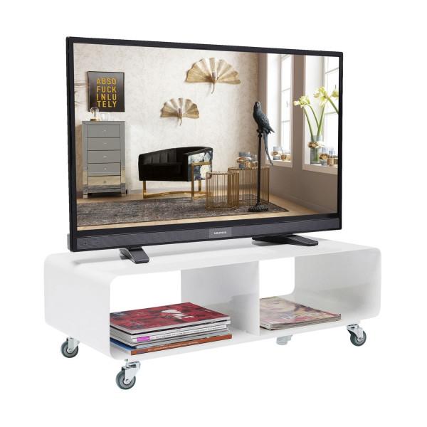 Design Tv Meubel Verrijdbaar.Kare Design Mobil Verrijdbaar Tv Meubel Wit 70441 Lumz