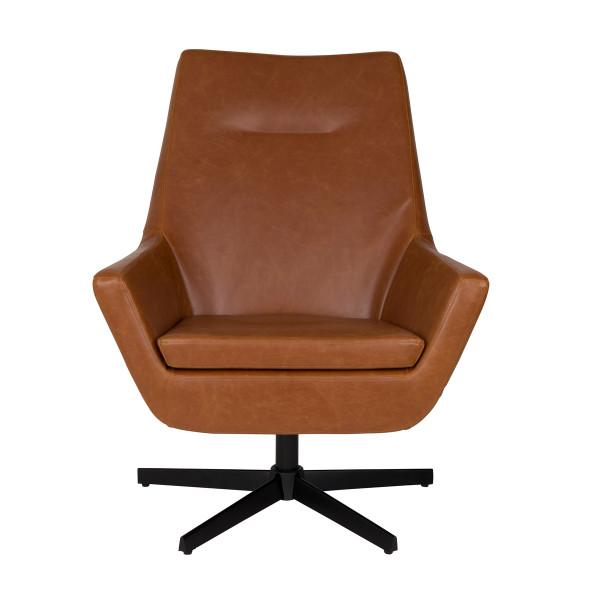 Onwijs Dutchbone Don   Leren loungestoel   3100028   LUMZ WI-58