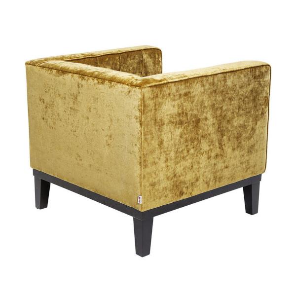 Comfortabele Design Fauteuil.Kare Design Mirage Okergele Comfortabele Fauteuil 78494 Lumz