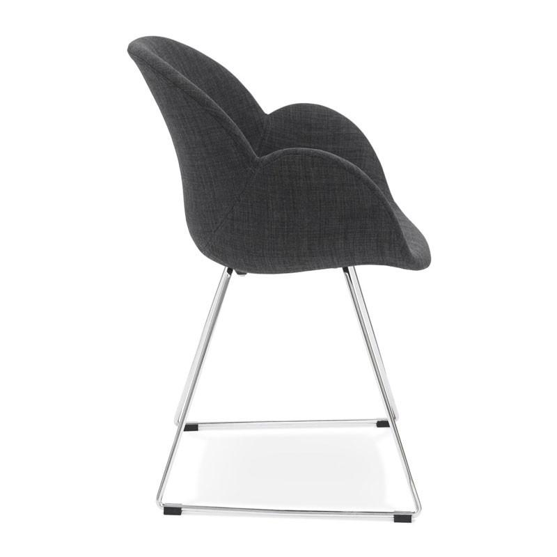 Kuipstoel grijs stof finest stoel muuto type fiber stof for Kuipstoel stof